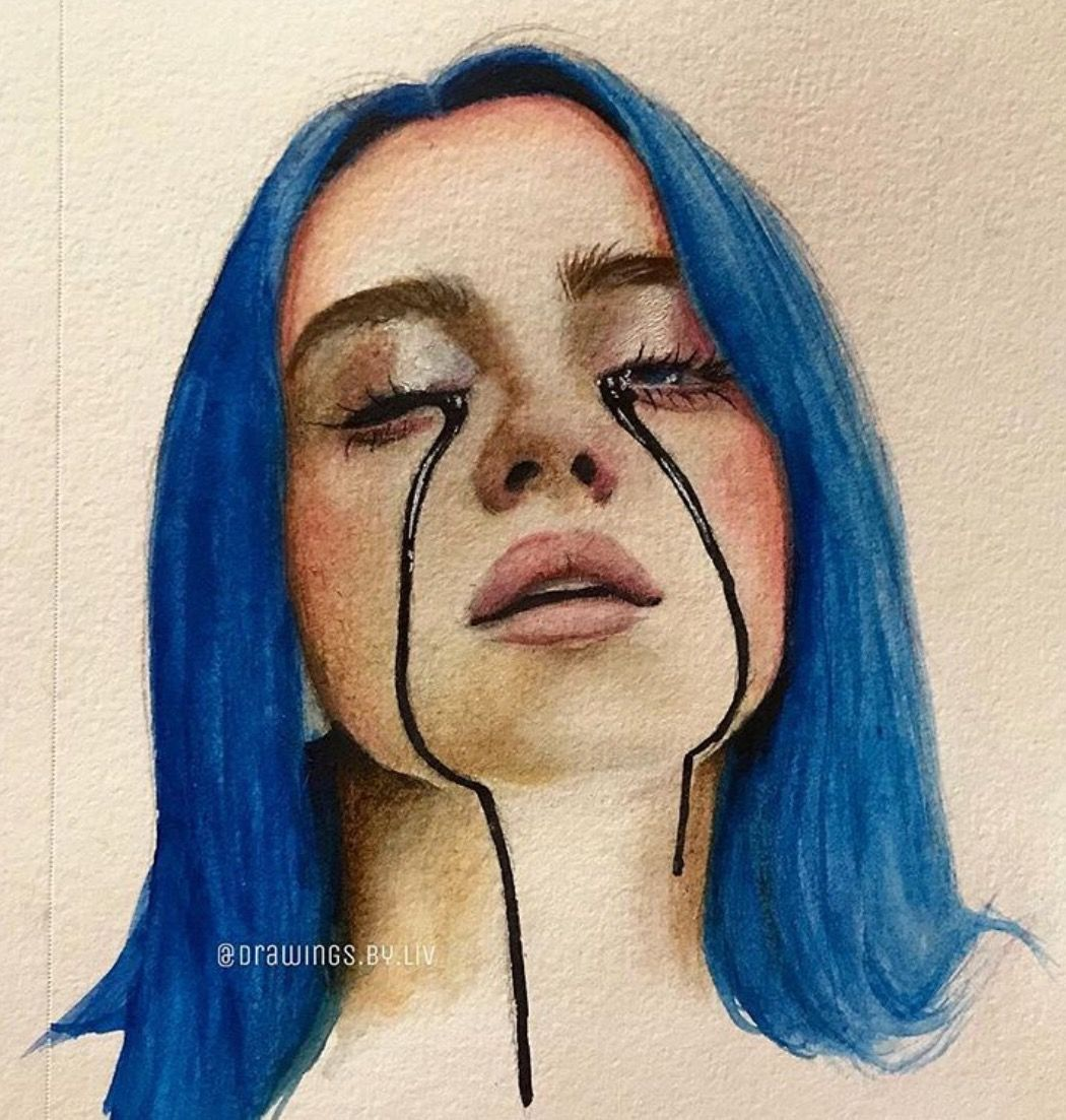 Billie Eilish Drawing When The Partys Over Google Search