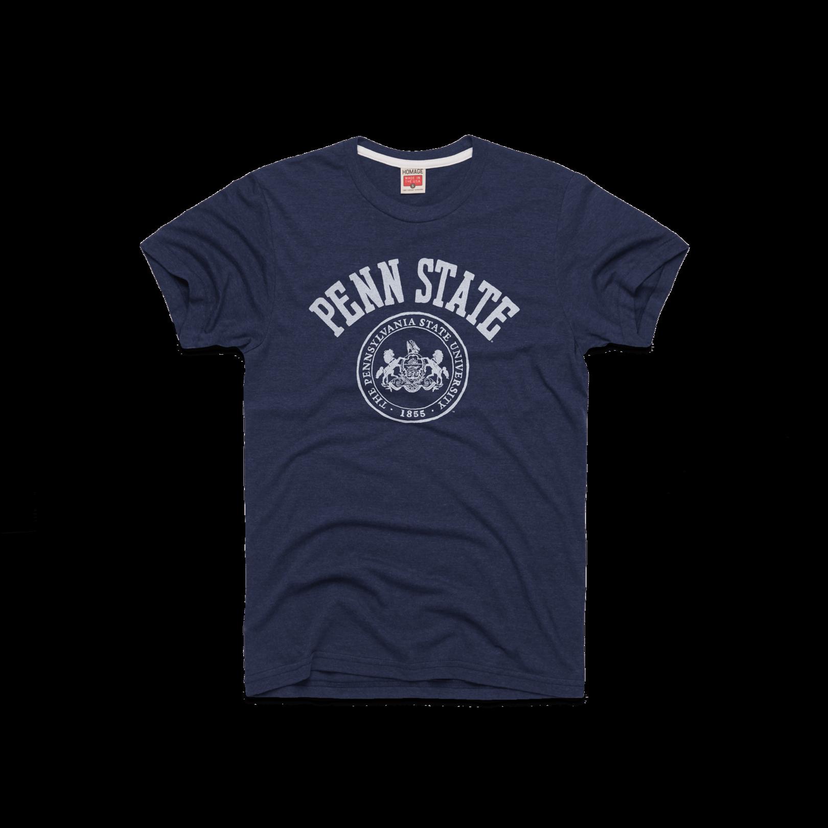 Penn State Seal Nittany Lions Retro University T Shirt Homage Long Sleeve Tshirt Men Mens Tops Vintage Outfits