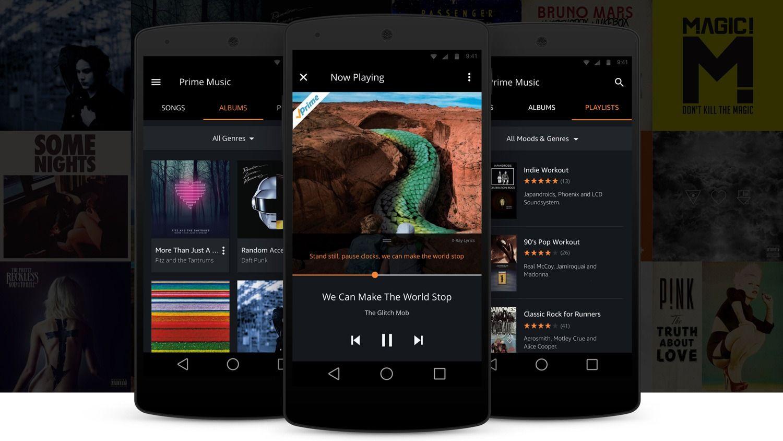 Interesante Amazon actualiza su App de Prime Music para