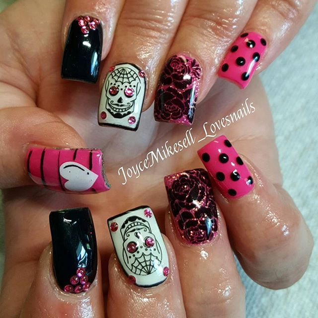 Jessica Christmas Nails: Joycemikesell_lovesnails … (With Images)