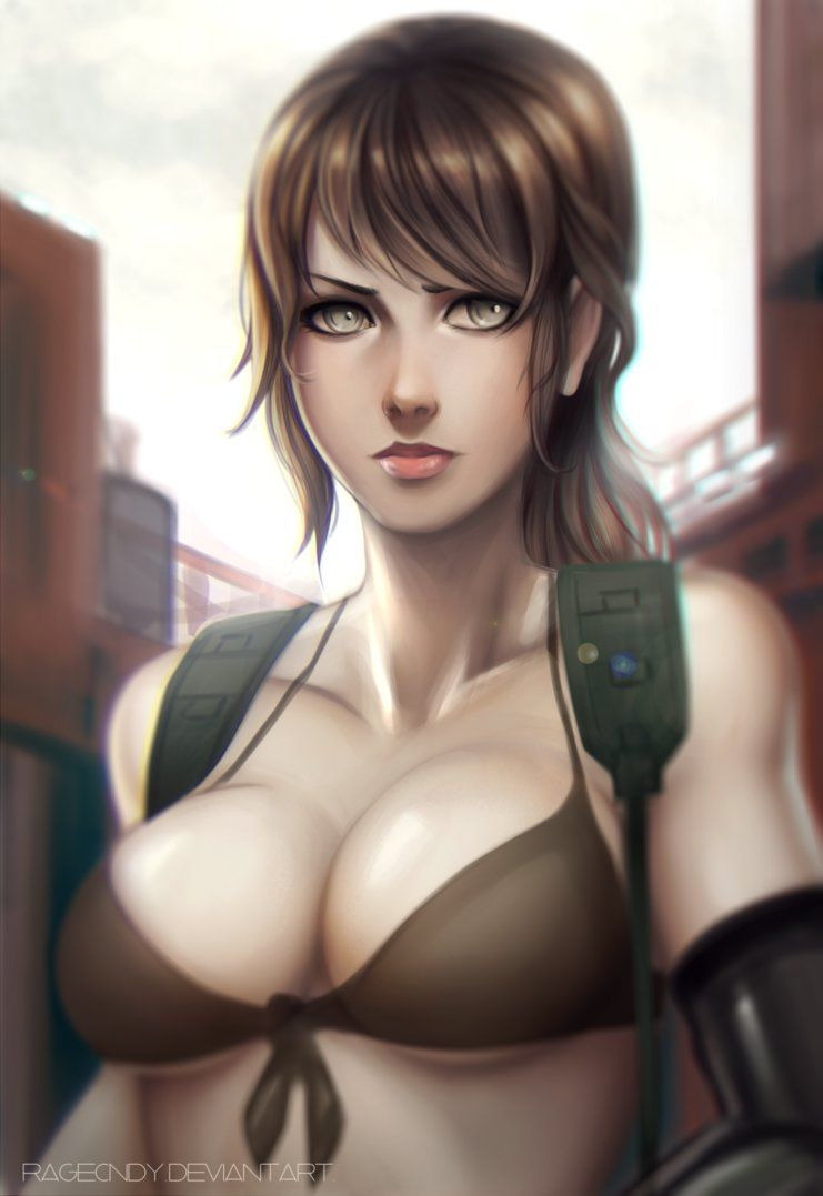 Sexy naked metal gear solid