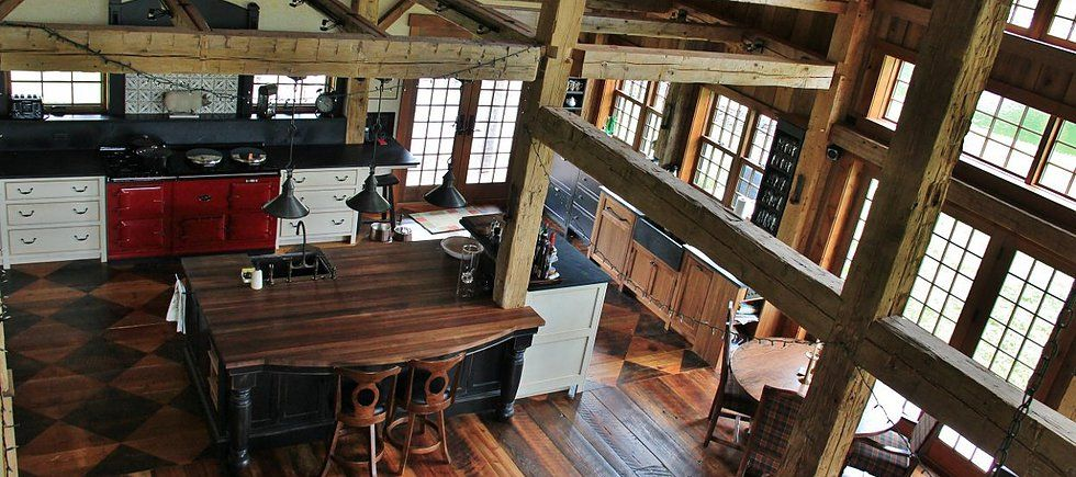 Green Mountain Timber Frames restores old barns and timber frame