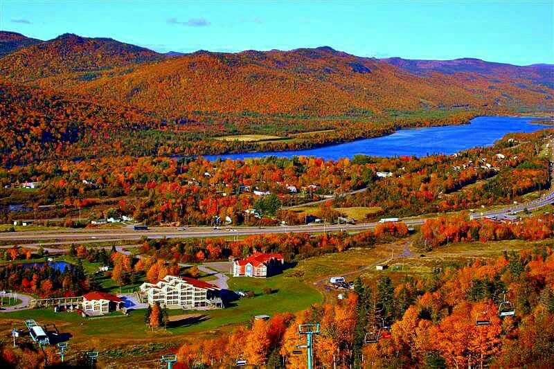The Humber River From Atop Marble Mountain Nl Newfoundland And Labrador Newfoundland Canada Cool Landscapes