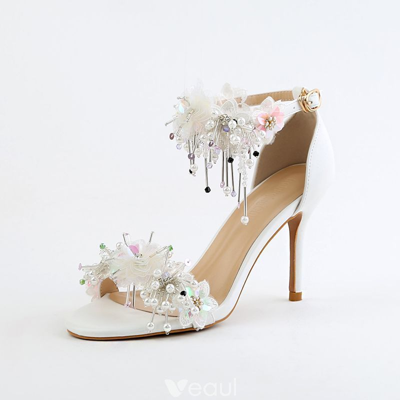 Details about  /Women/'s Floral Print Stilettos High Heel Pointy Toe Evening Slip On Pumps Shoes