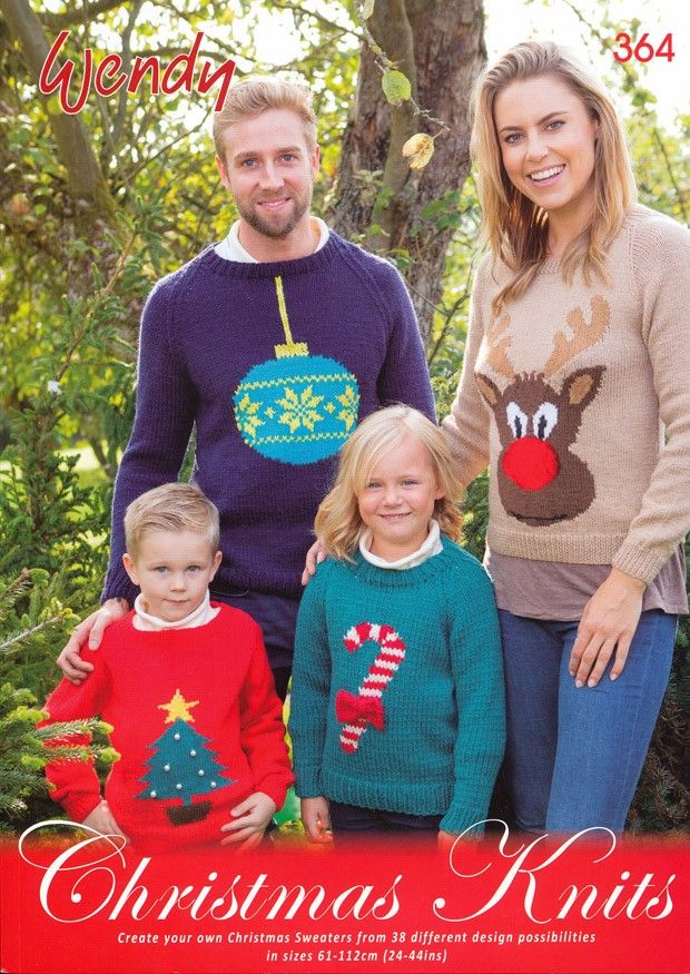 Christmas Knits by Wendy (364) | Wendy Knitting Books | Knitting Books | Deramores
