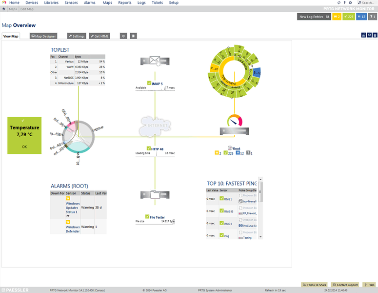 PRTG Network Monitor - Powerful Network Monitoring Software