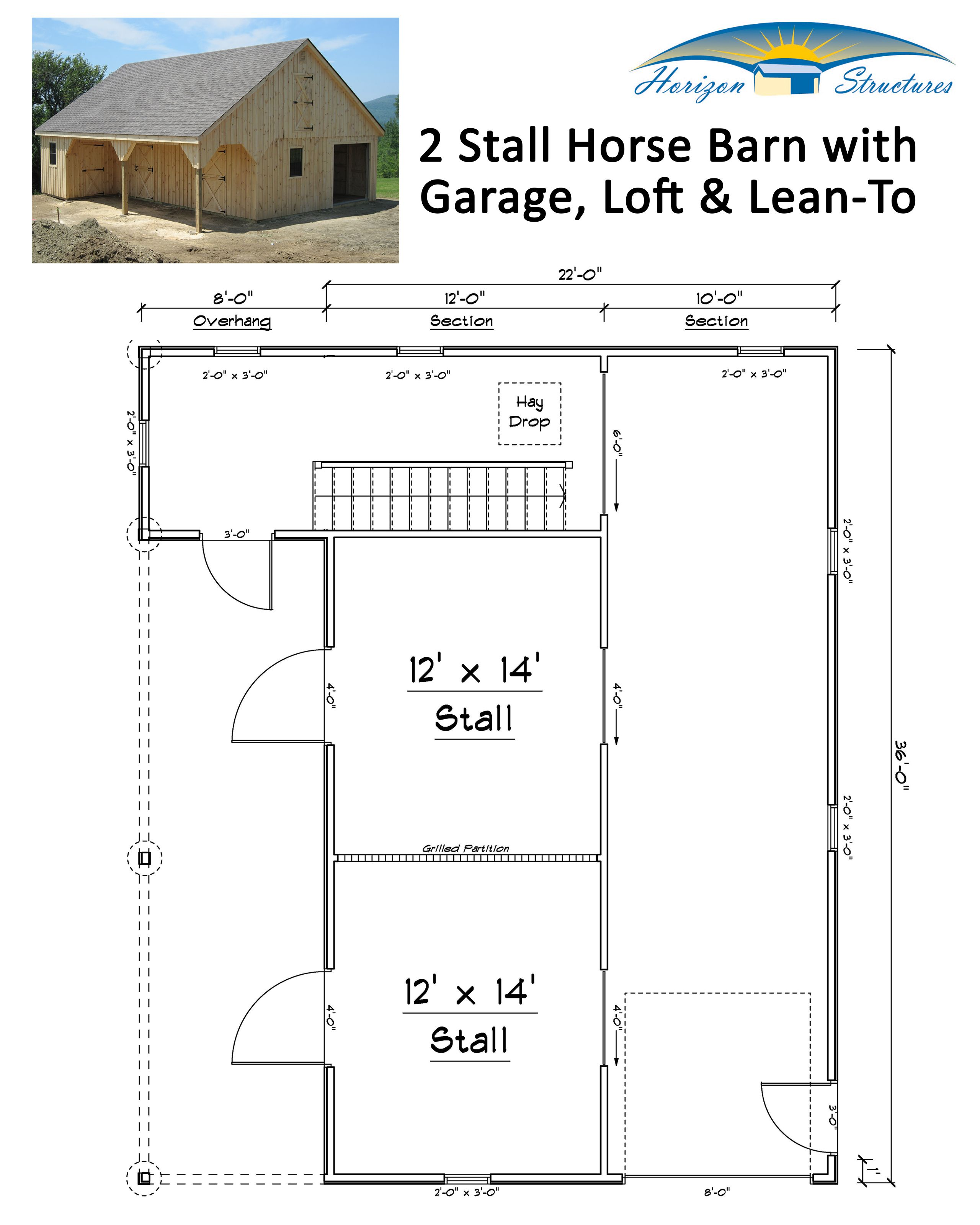 High Profile Modular Horse Barns Horizon Structures Small Horse Barns Horse Barn Plans Horse Barn