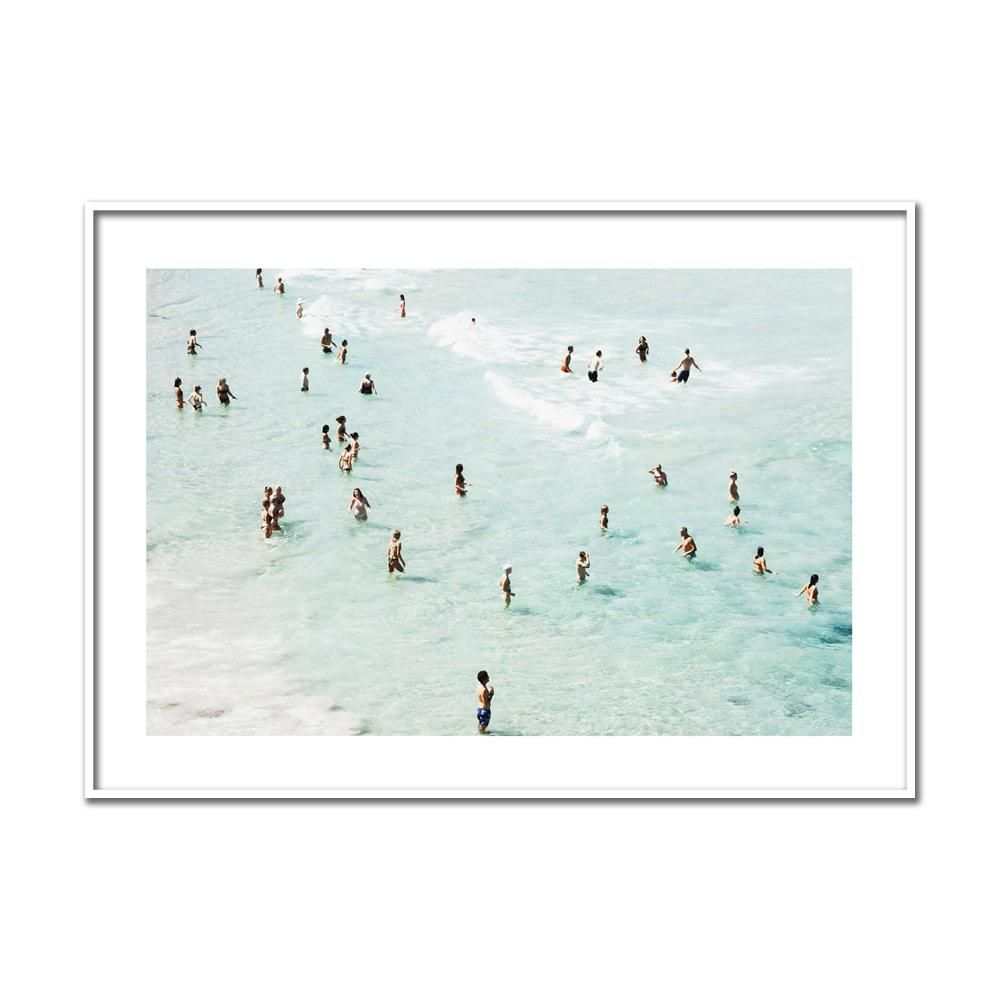 Bondi Bathers 2 Seascape Print Coastal Wall Art Online Wall Art