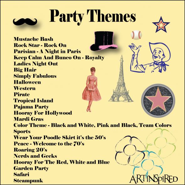 bunco themes bunco pinterest bunco themes bunco