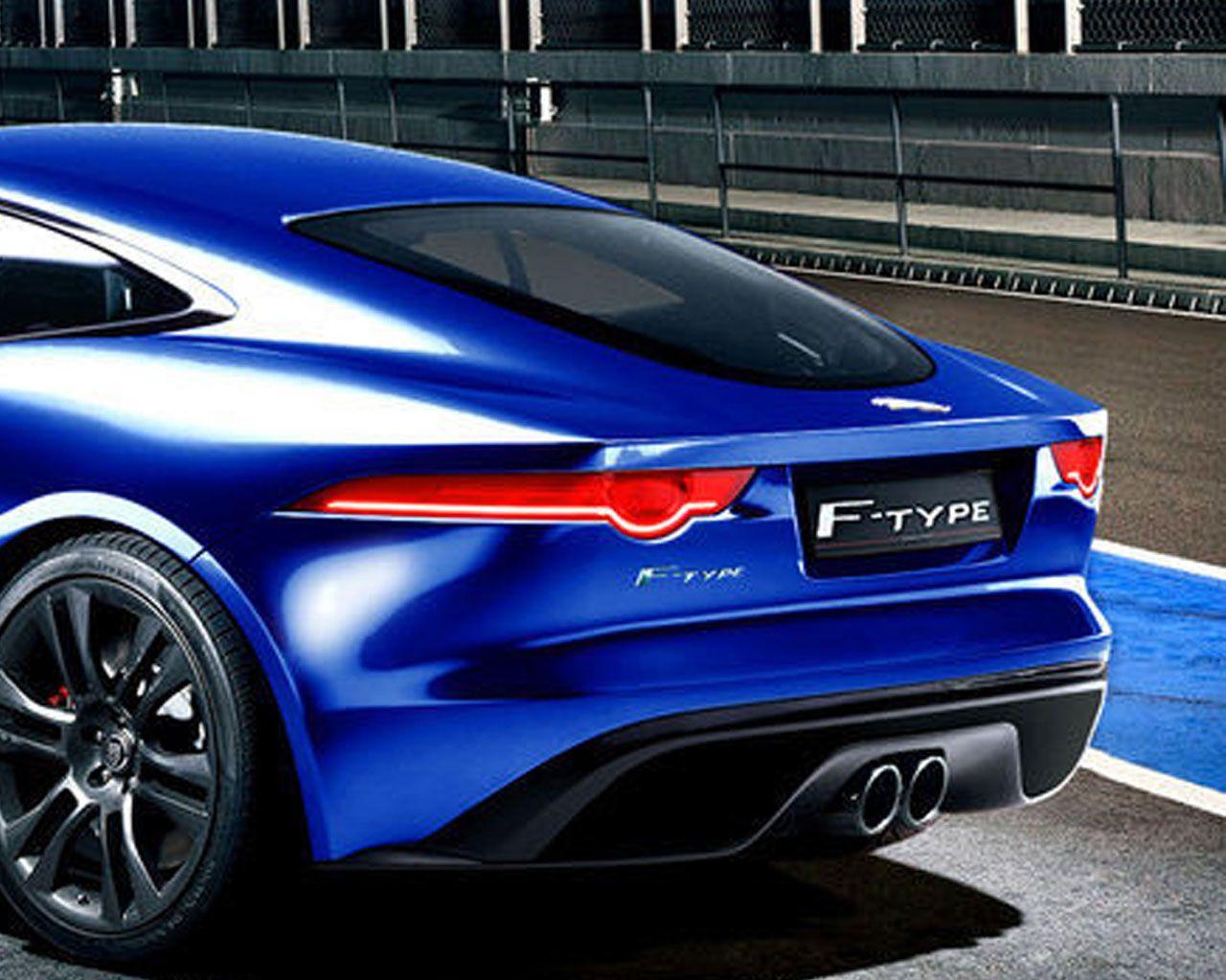 2014 Jaguar Ftype Coupe 2014 Jaguar FType Coupe Blue