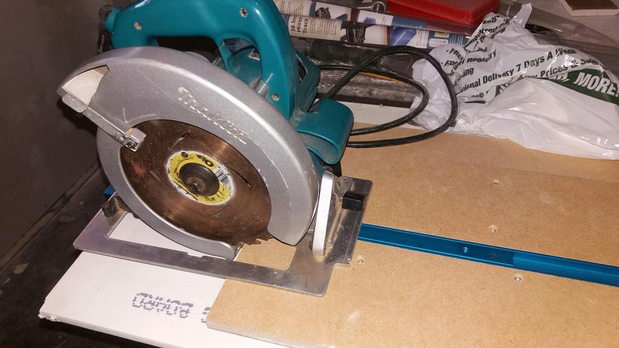Convert A Circular Saw Into A Track Saw Circular Saw Workshop Circular