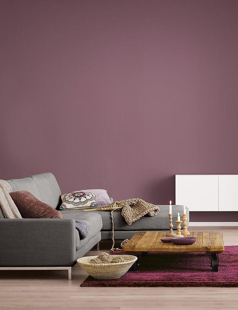 Cozy Berry Farbtrends 2020 Alpina Farben Alpina Farben Wandgestaltung Wohnzimmer Farbe Wohnzimmer Design Küche Farbideen