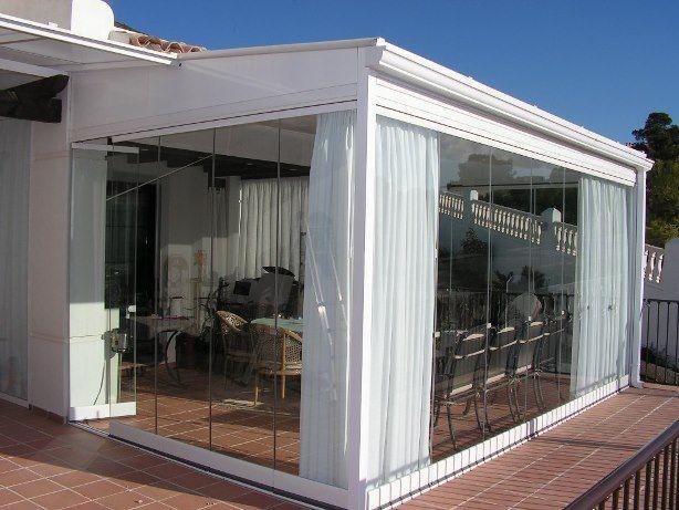 Cerramientos con cortinas de cristal buscar con google - Cerramientos de terraza ...