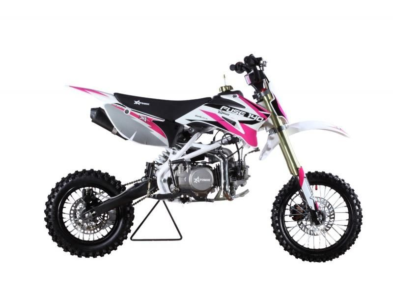 atomik 140cc pink fuse dirt bike dirt bikes dirt bikes. Black Bedroom Furniture Sets. Home Design Ideas