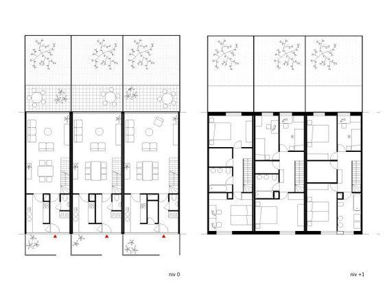 Pin by deborah nadruz on Vivienda Planos Pinterest – Social Housing Plans