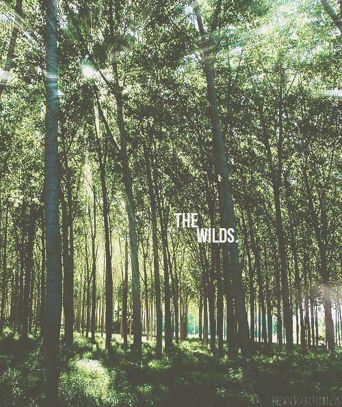 Het is verboden om voorbij het hekken te gaan want daarachter ligt de wildernis.