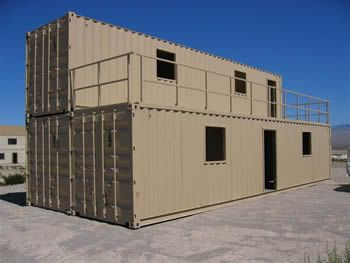 Military Building | Boots on a Wire | Container house ...