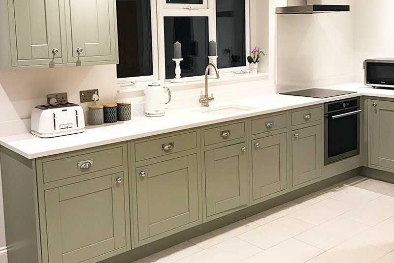Best An Innova Harewood Grey Inframe Kitchen Diy Kitchen 400 x 300