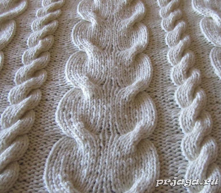 Как вязать косы спицами | вязание | Pinterest