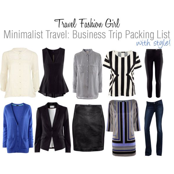 Top 10 International Packing Lists of the Year Minimalist - Business Trip Packing List