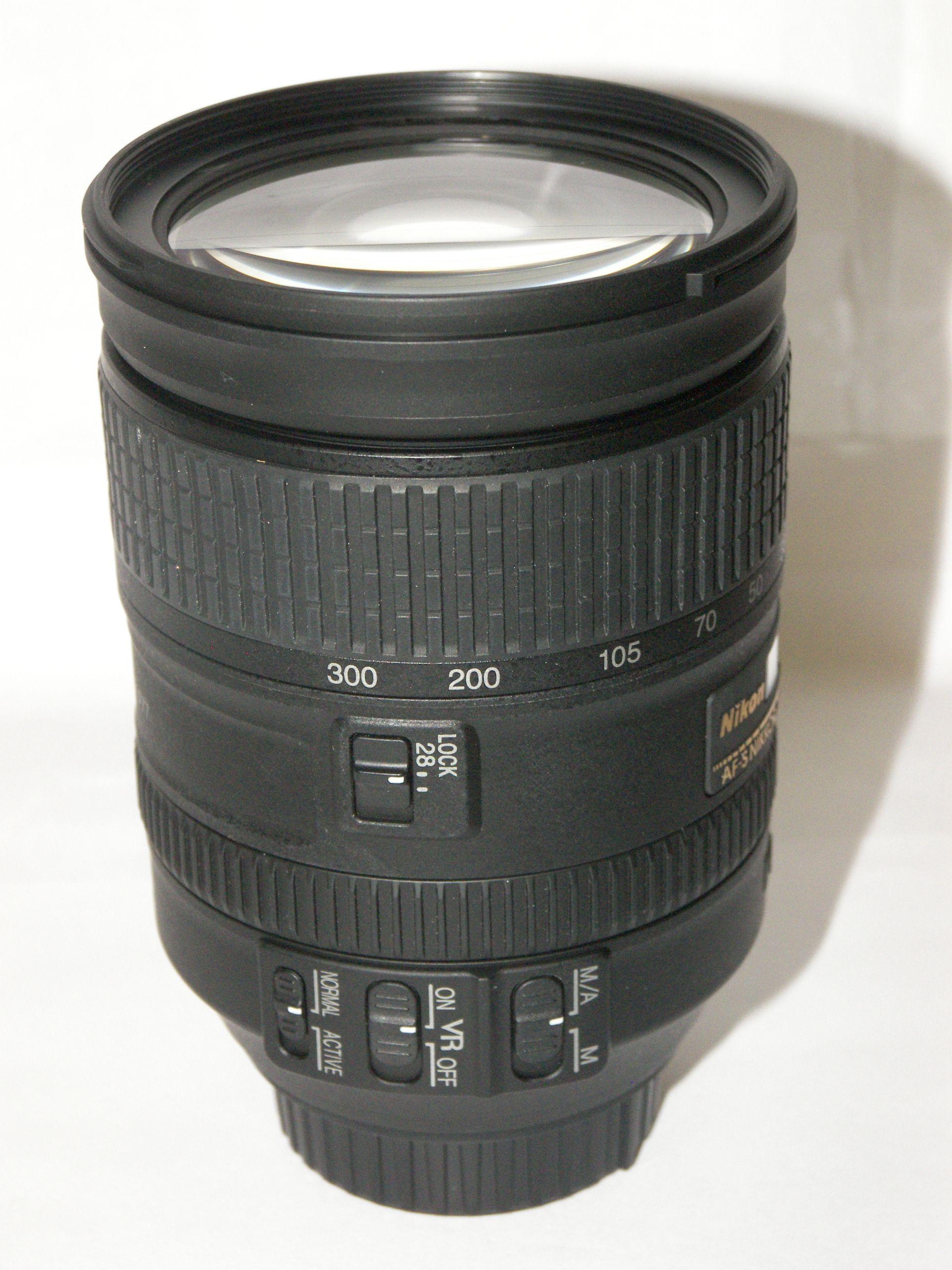 Nikon Af S Nikkor 28 300mm F 3 5 5 6g Ed Vr Lens Vr Lens Consumer Electronics Lens