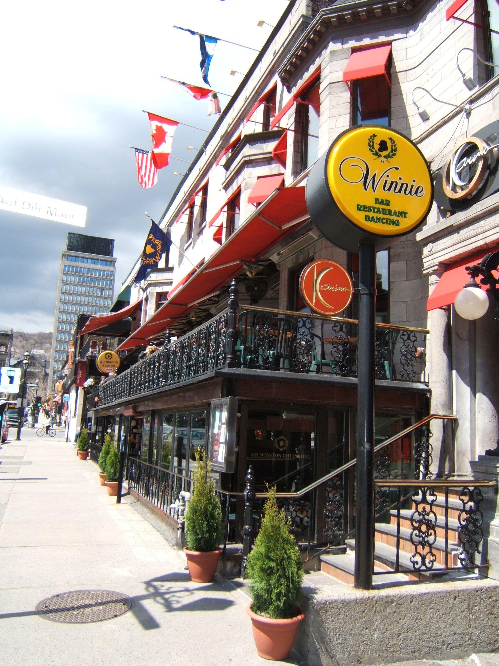 Sir Winston Churchill Pub Montreal Quebec Montreal Canada