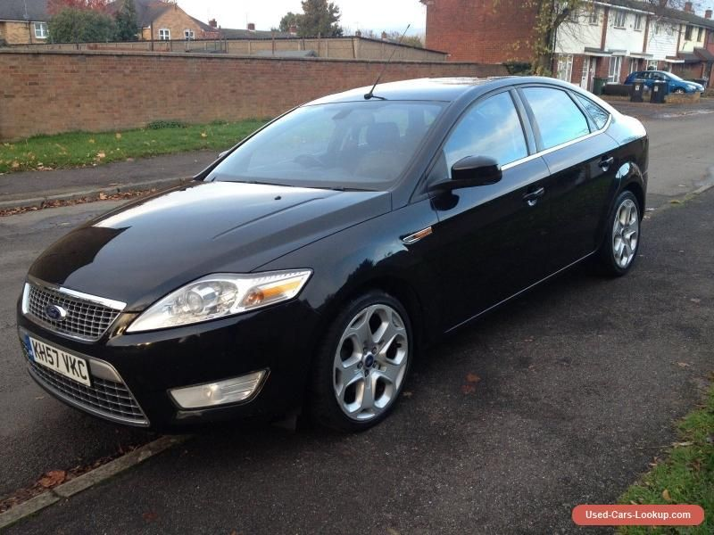 Ford Mondeo Mk4 Titanium X 1 8 Tdci Ford Mondeo Cars For Sale Ford