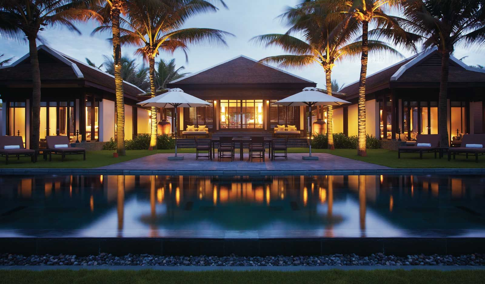 Two Bedroom Beachfront Pool Villa Luxury Hoi An Hotel In Vietnam The Nam