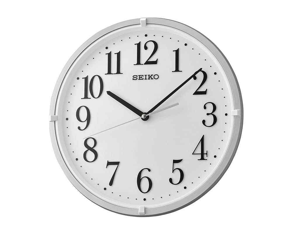 ساعة حائط سيكو برواز بلاستيك Qxa930s Clock Wall Clock Wall