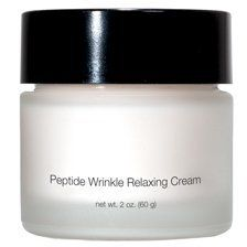 Anti- Aging Pep Tide Wrinkle Relaxing Creme by European Esthetics & wellness. $42.55. Firmer resilient skin. Rich Moisturizing Creme. Anti-Aging Peptide Wrinkle relaxing Creme. PreventCollagen Elastin breakdown. Advanced Peptide helps reduce wrinkles depth and improves skin tone. A two in one non toxic formula that smoothes and  reduces lines and wrinkles while promoting lasting improvement in skin texture.  Injection free technology a combination of two Peptides that wo...