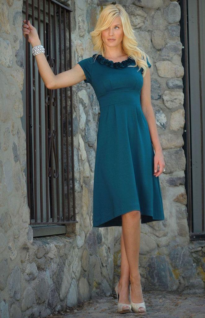 Mi vestido azul serena