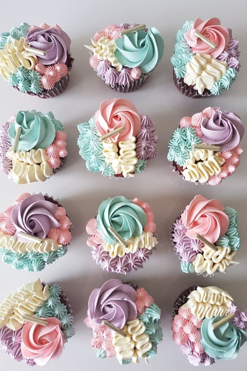 Sooo pretty! in 2020 Birthday cupcakes for women