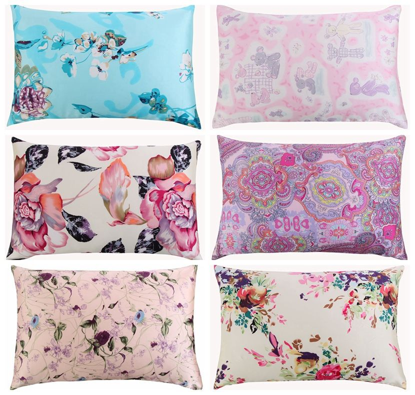 New Free shipping 100 nature mulberry floral silk