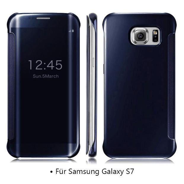 Samsung Galaxy S7 Schutzhulle Taschenhulle Flipstil In Schwarz Smartphone Schu Mit Bildern Samsung Smartphone Cover