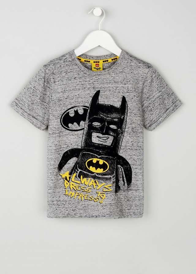 Kids Batman Printed T-Shirt (5-10yrs) u2013 Matalan & Kids Batman Printed T-Shirt (5-10yrs) u2013 Matalan | Kids batman and ...