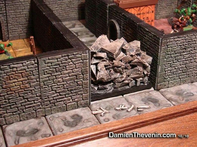 Warhammer Quest Tabletop games, Geek art, Dungeon tiles