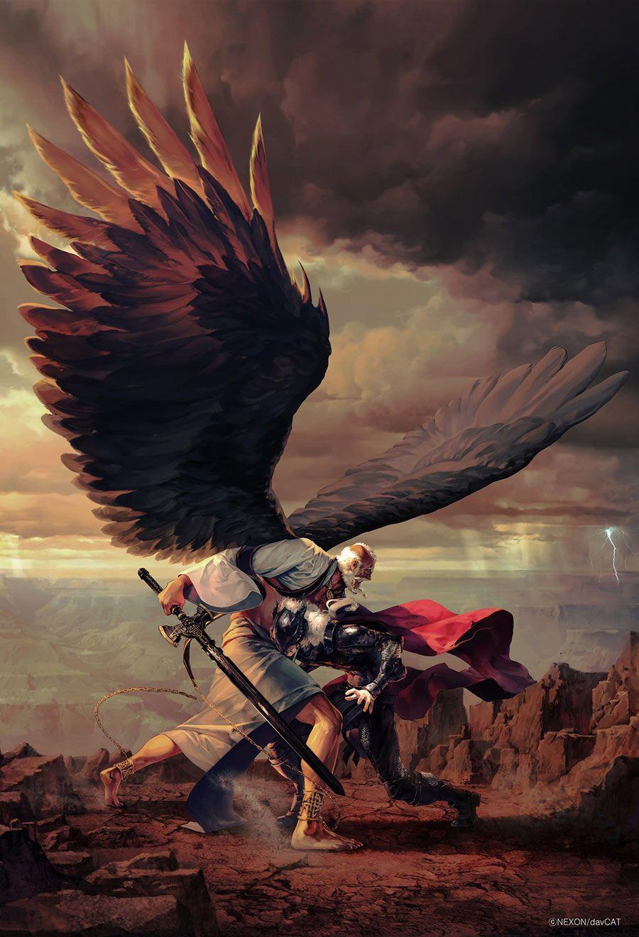 Nuadha vs Sreng - Characters & Art - Mabinogi II: Arena