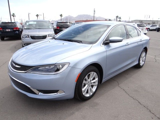 2015 Chrysler 200 In Crystal Blue At Chapman Las Vegas With