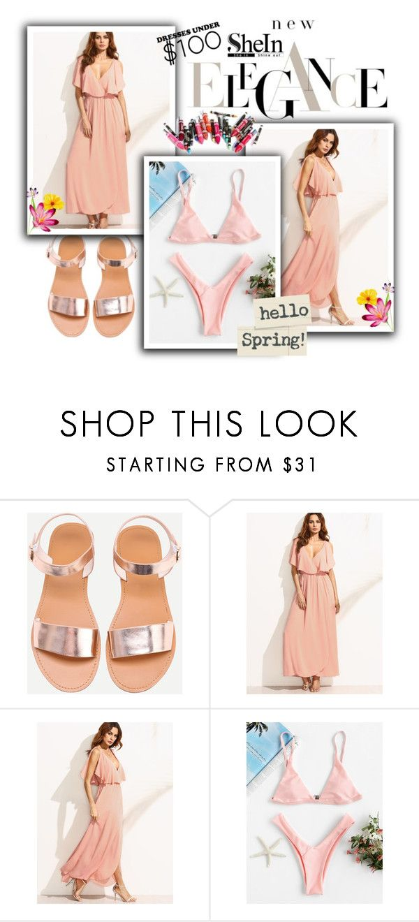"""""""Shein contest"""" by fashion-all-around ❤ liked on Polyvore featuring Clinique"""