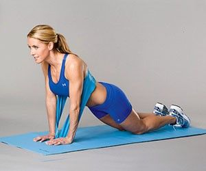 resistance band exercises.