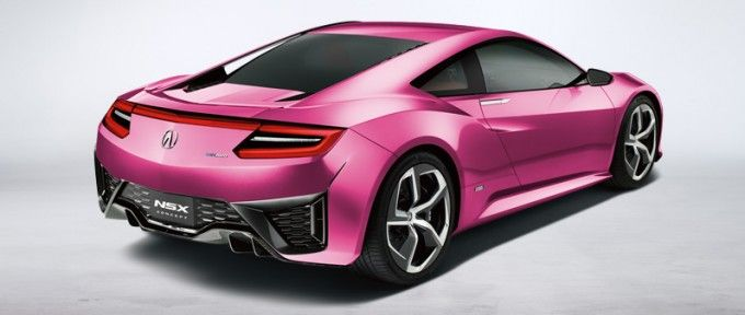 Acura Launches Nsx Concept Colorizer Nsx Acura Nsx Concept Cars