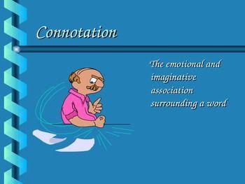 Petite denotation and connotation Useful