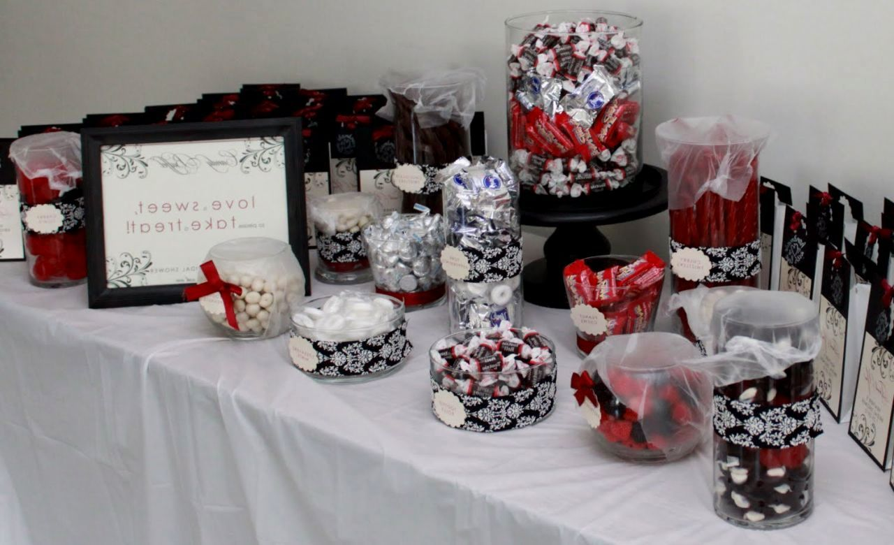 Red White Themed Wedding Ideas See More About And Black Theme