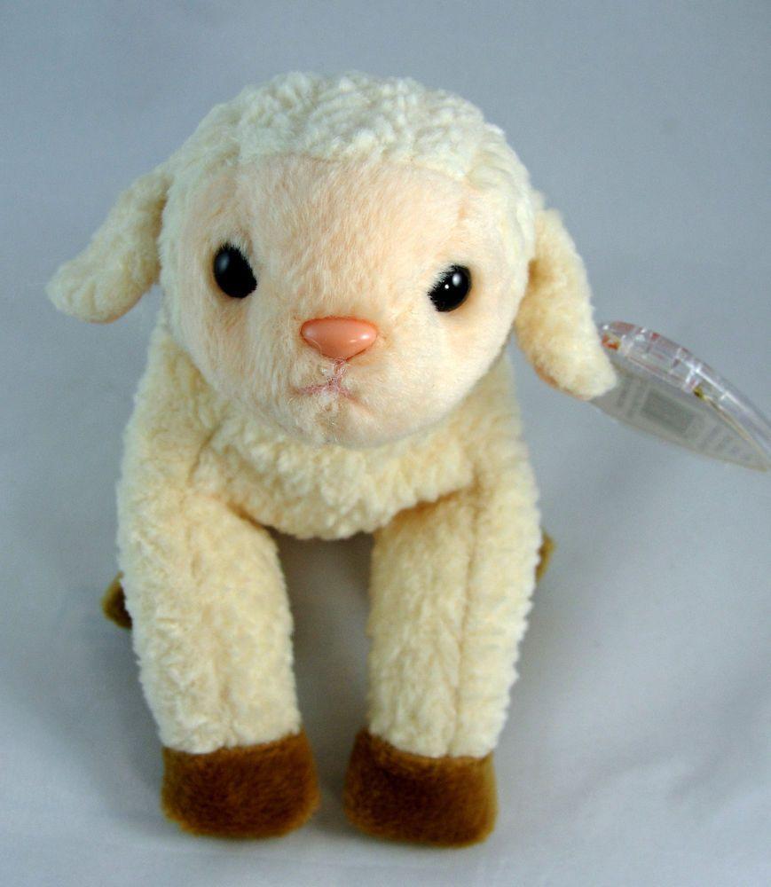 Ty Beanie Baby EWEY the Easter Lamb
