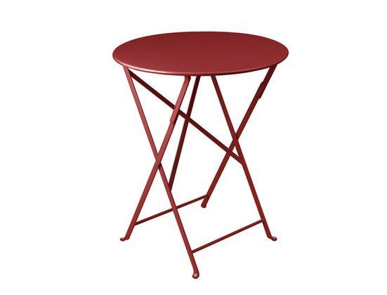 Table Bistro ronde 60 cm, table de jardin, table ronde ...