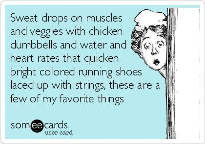 A gym-obsessed gal's favorite things!