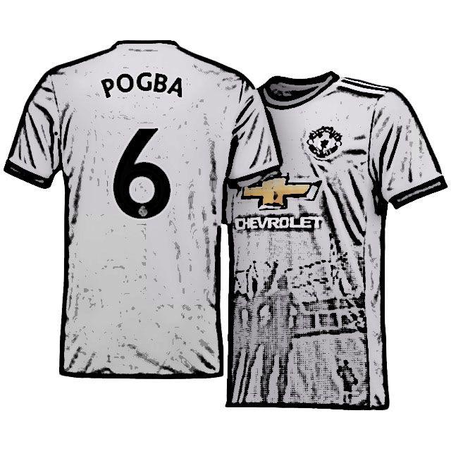 official photos ab5b5 155b4 Cheap Man Utd Jersey Shirt Kit Third 17-18 Top paul pogba ...