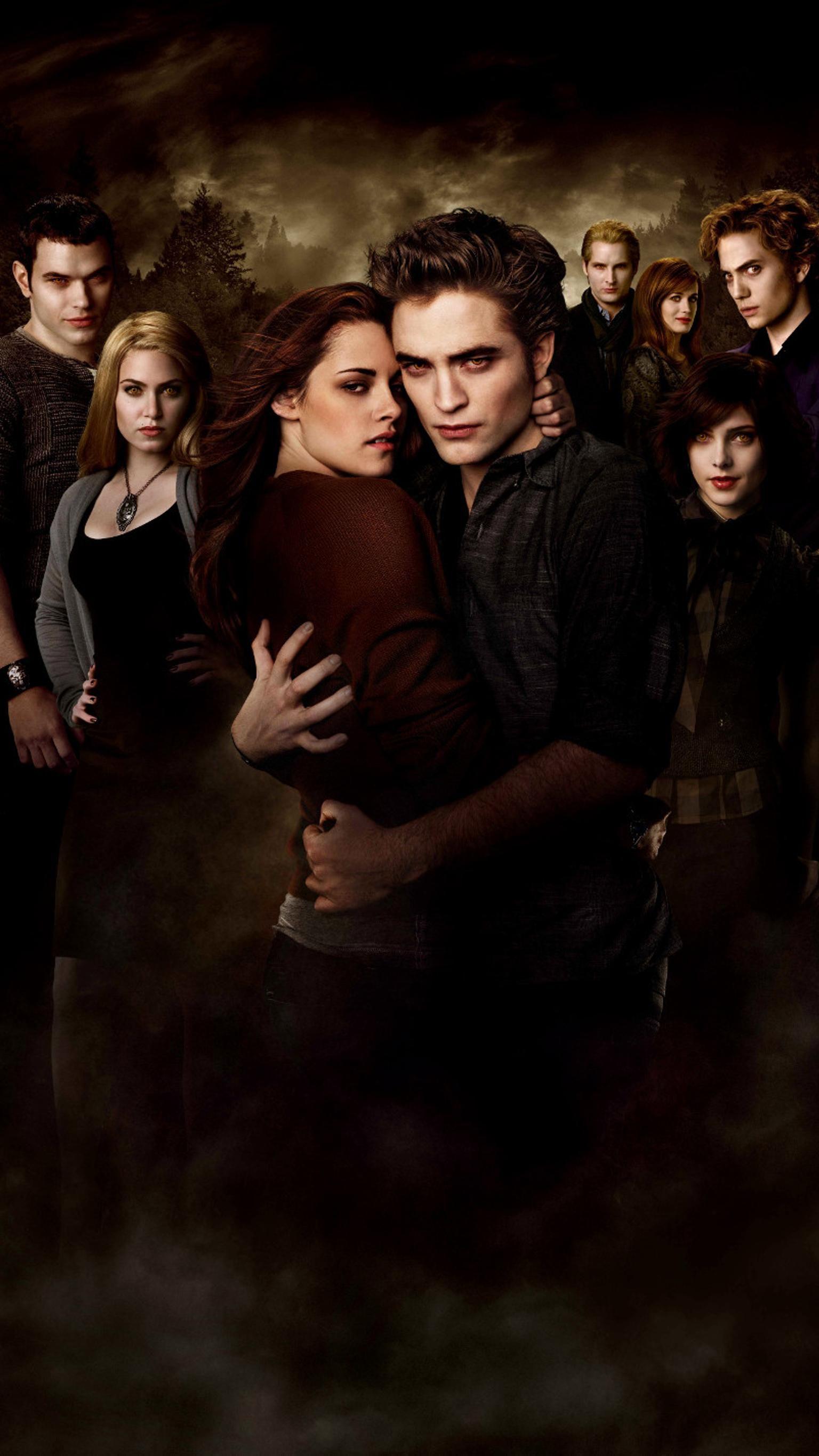 The Twilight Saga New Moon 2009 Phone Wallpaper Film En