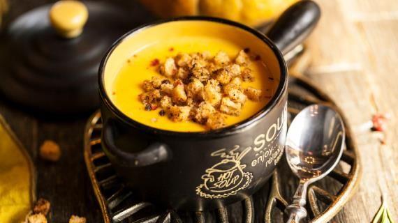 Крем-суп из тыквы с кукурузой | Рецепт | Рецепты супов ...