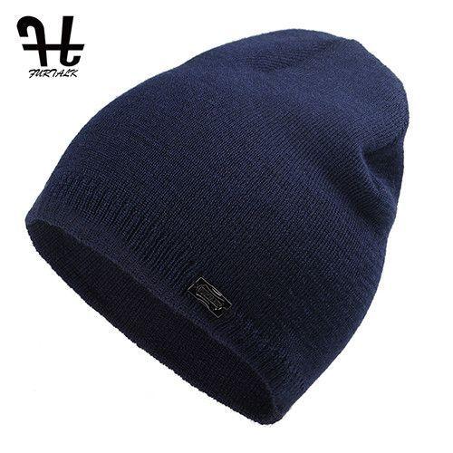 8393d948397 FURTALK Unisex Spring Autumn Watch Cap Woman Wool Knit Beanie Cap Braided  Hat skull hats for